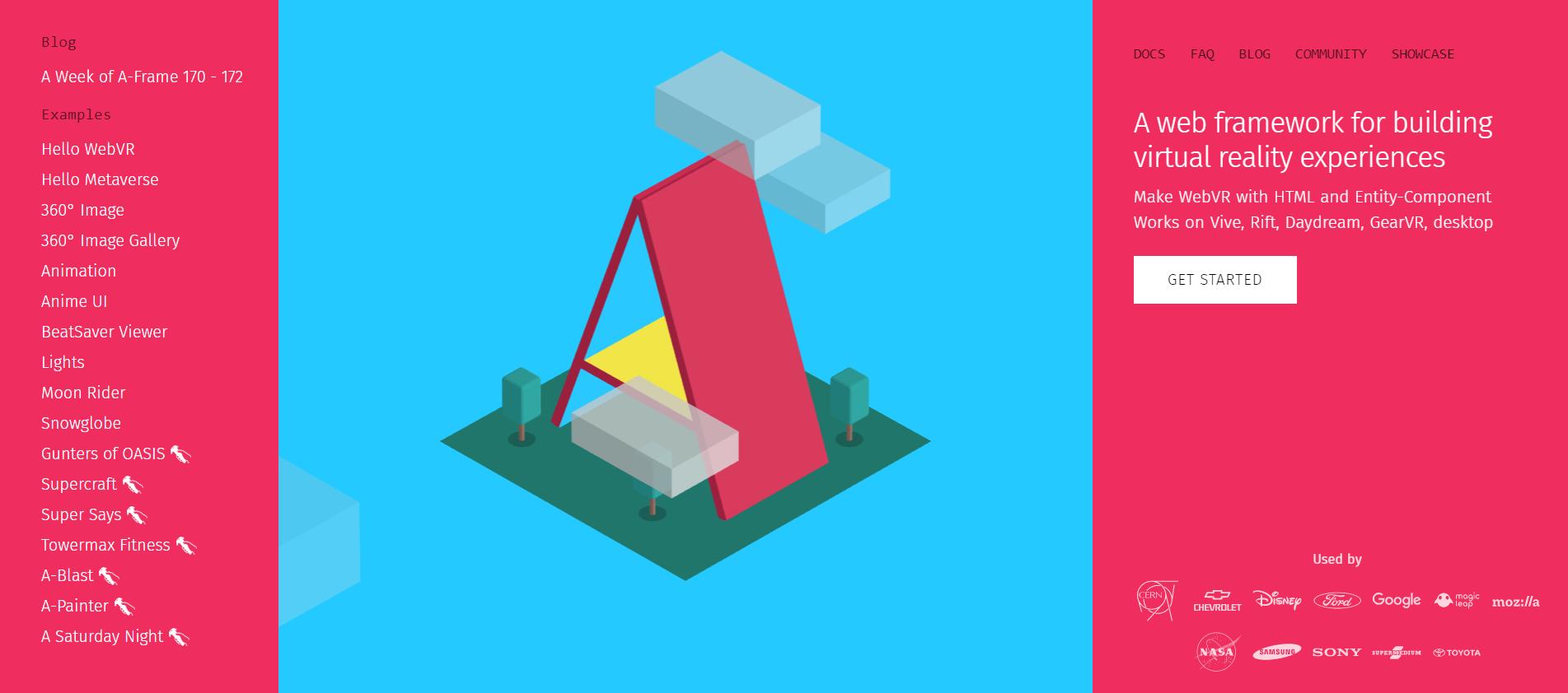 A Frame – Make WebVR